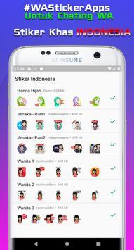 Sticker Indonesia untuk Whatsapp + Status Keren WA screenshot 1
