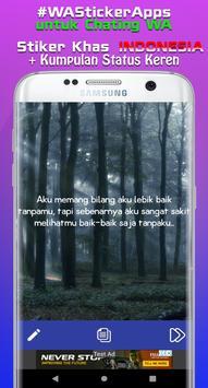 Sticker Indonesia untuk Whatsapp + Status Keren WA screenshot 3