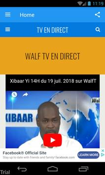 WALF TV EN DIRECT पोस्टर