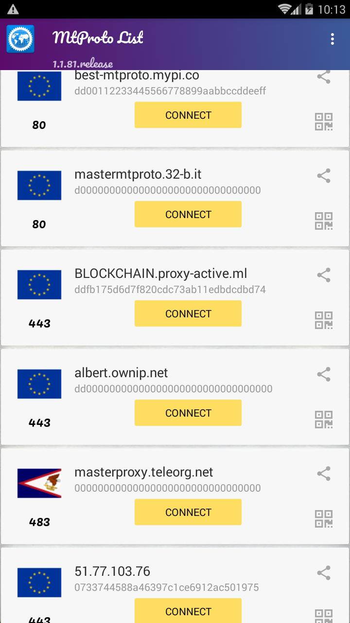 Free Unlimited Proxy - Proxy MTProto for Telegram for Android - APK
