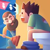 ikon Toilet Empire Tycoon - Idle Management Game
