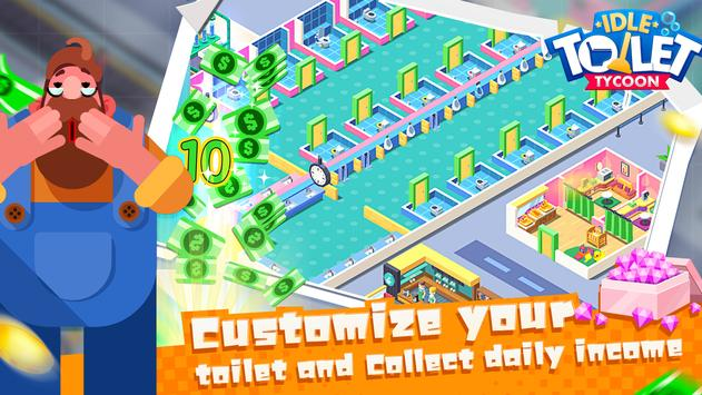 Toilet Empire Tycoon - Idle Management Game screenshot 3