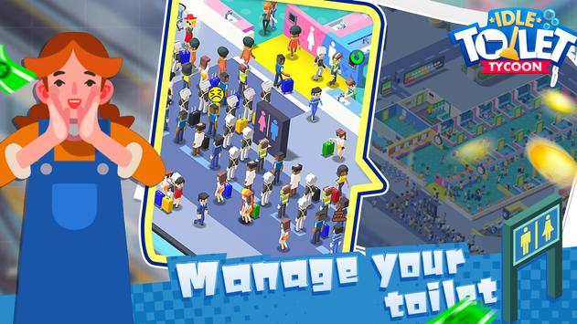 Toilet Empire Tycoon - Idle Management Game poster