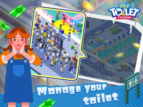 Toilet Empire Tycoon - Idle Management Game screenshot 8