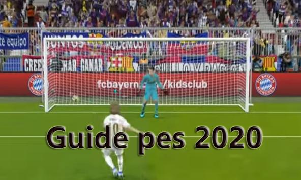 GUIDE  for pes 2K20 (PES-2020 ) poster