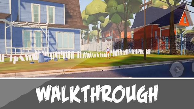 Walkthrough Neighbor Game- Hello alpha Family Tips 스크린샷 1