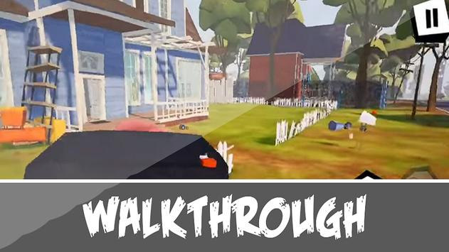 Walkthrough Neighbor Game- Hello alpha Family Tips 스크린샷 2