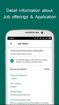 Job Alert poster