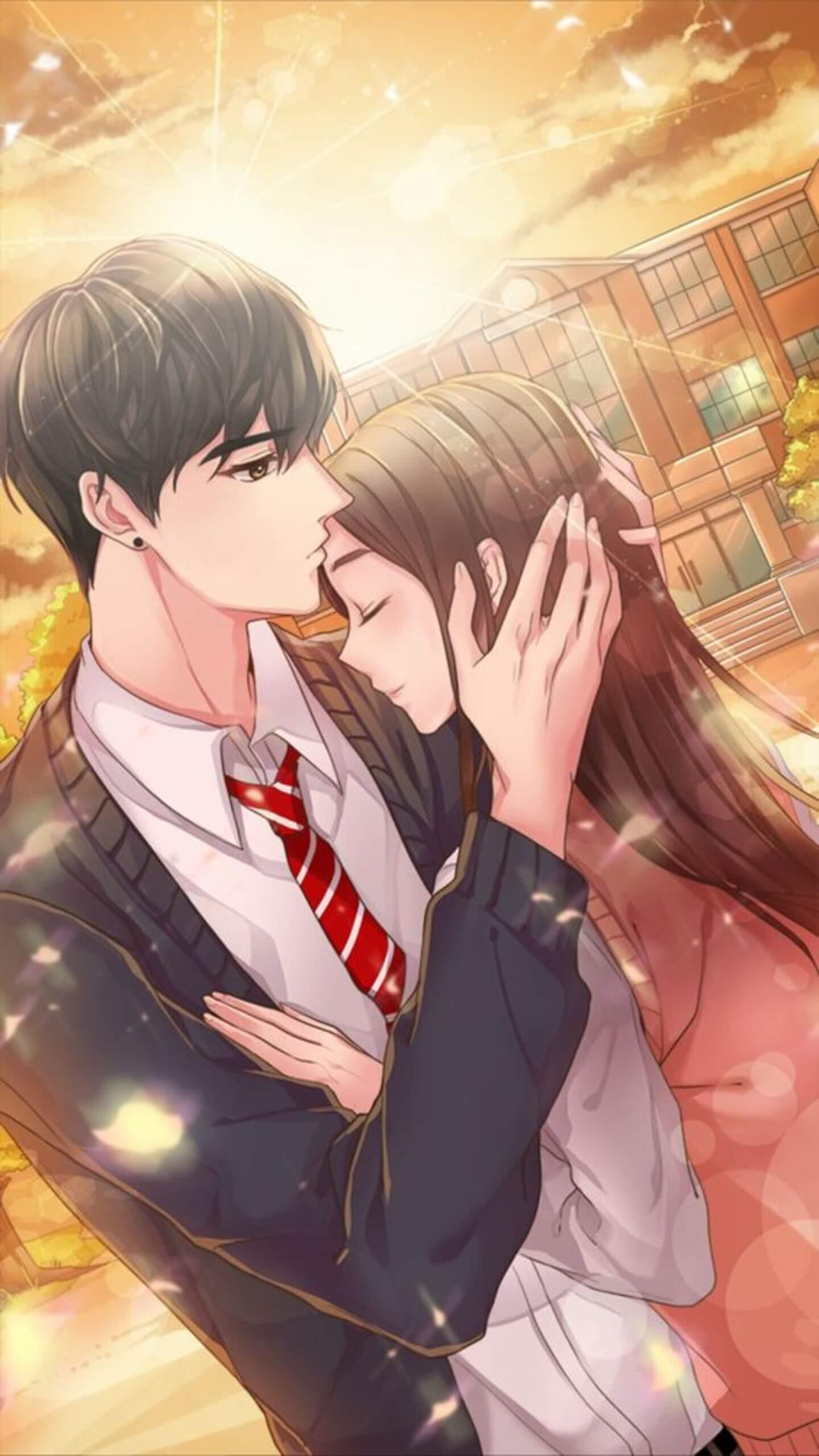 Anime Love Couple Wallpapers For Android Apk Download