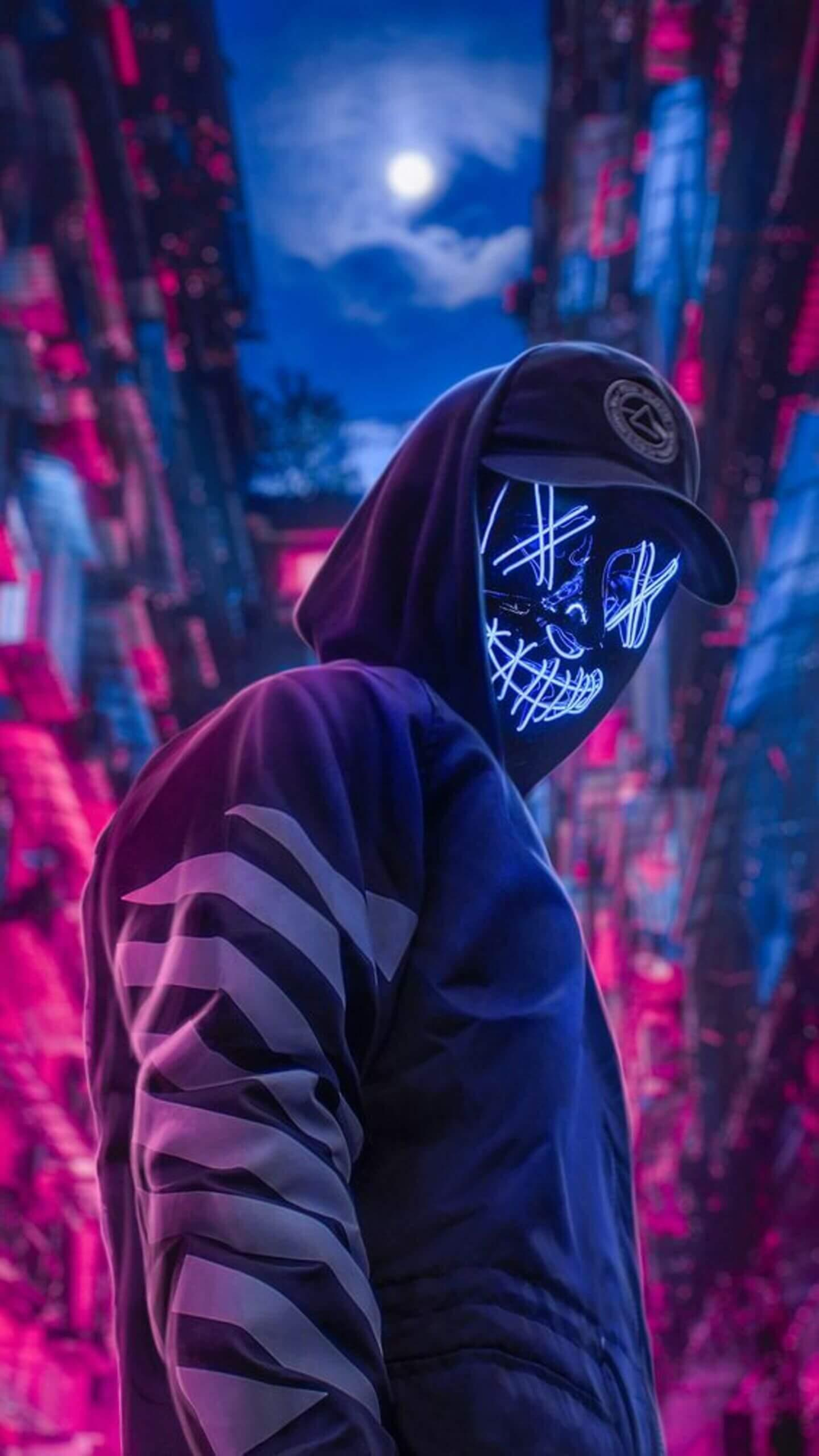 Led Purge Mask Wallpaper HD for Android - APK Download