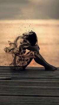 Sad Girl Wallpapers تصوير الشاشة 1