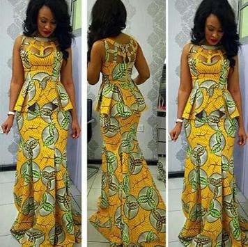 African Dress poster