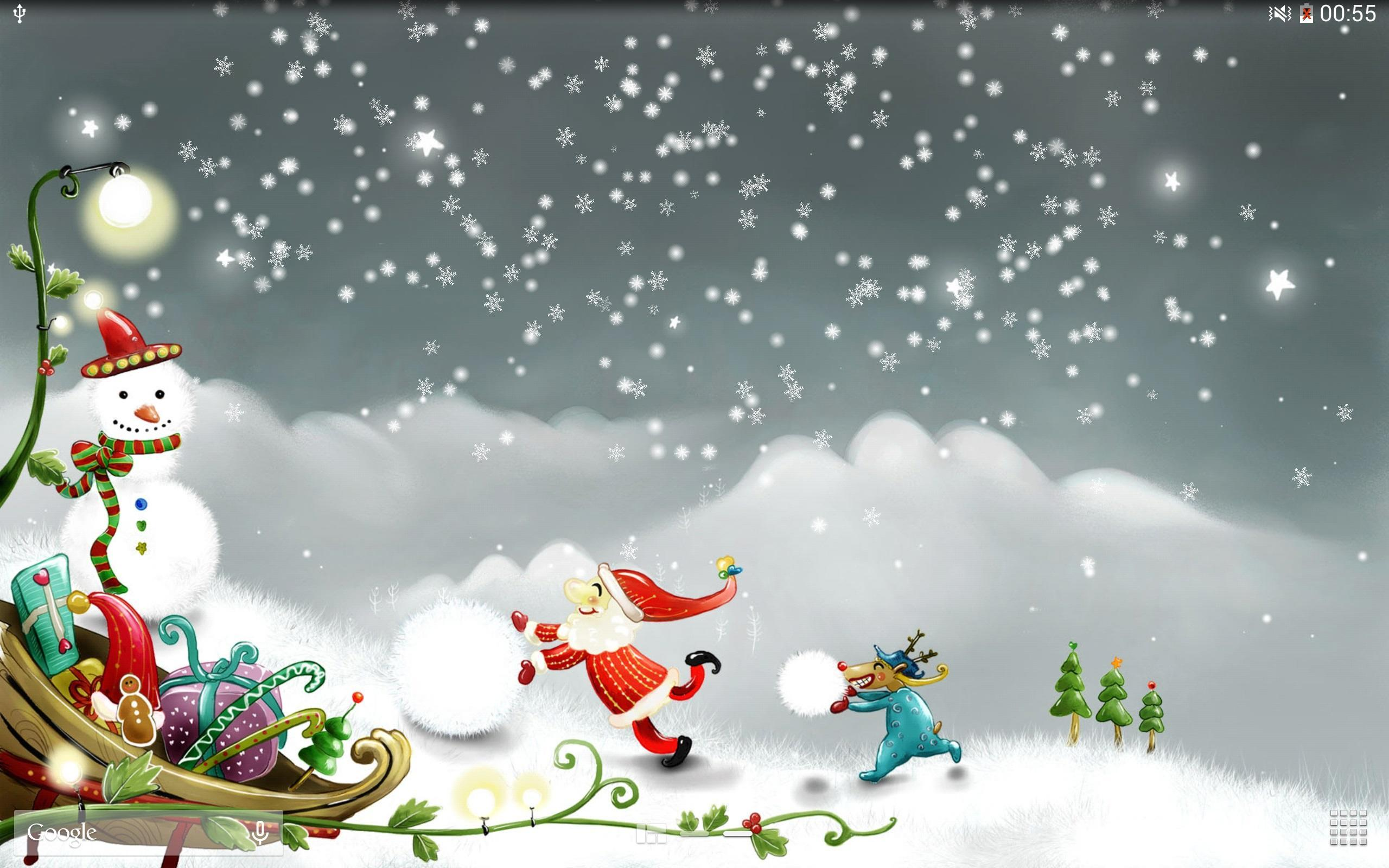 Christmas Snow Live Wallpaper For Android APK Download