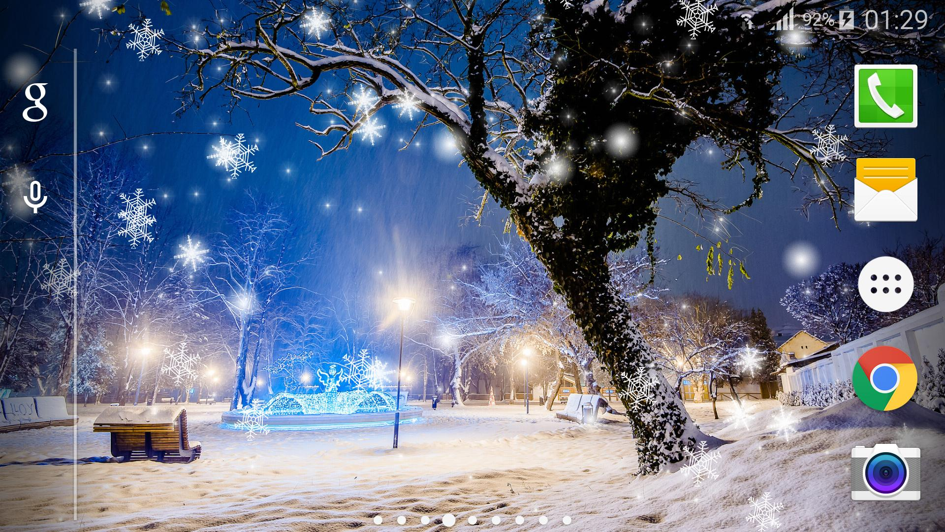 Snow Night New Live Wallpaper For Android Apk Download