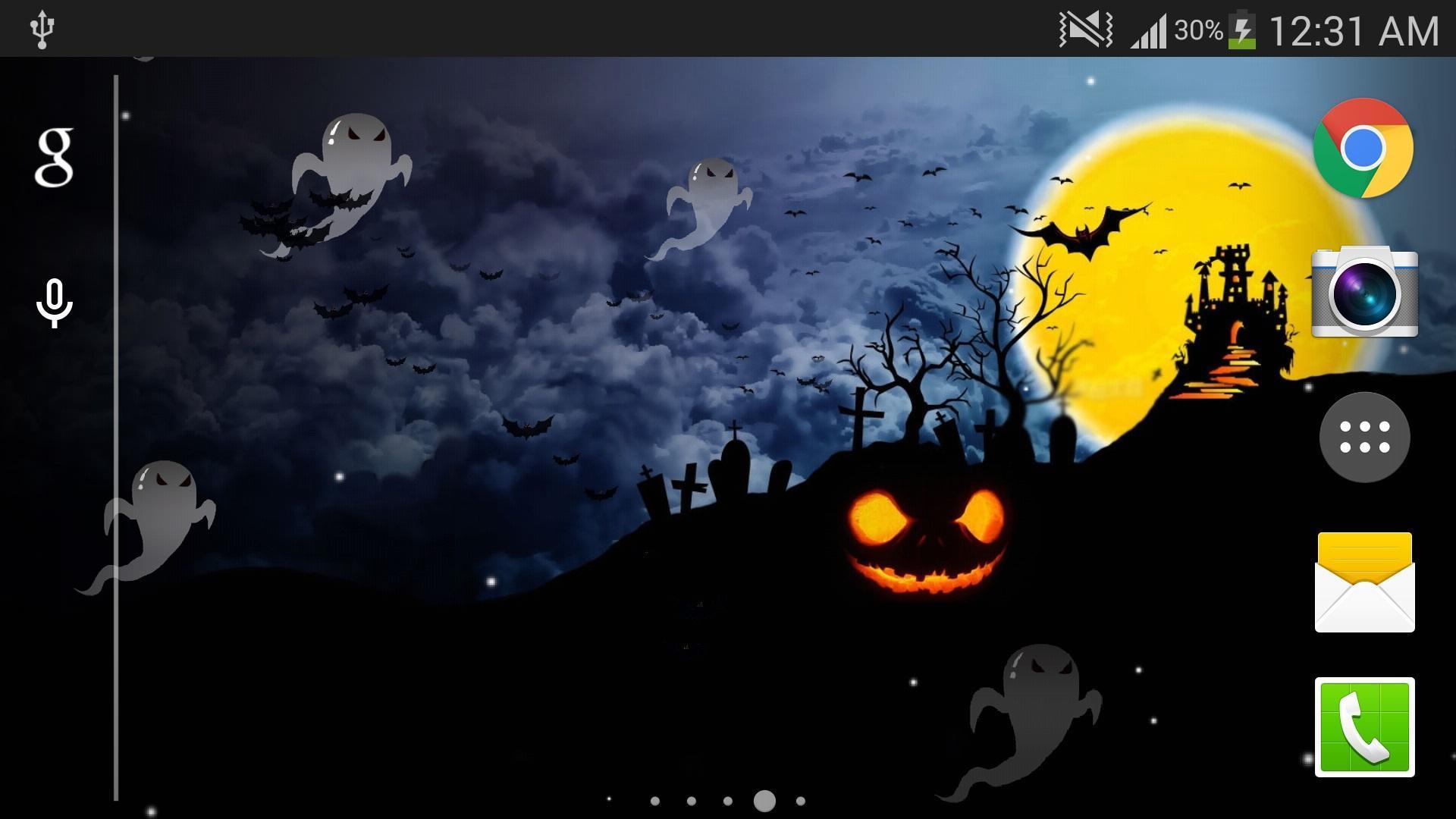Android 用の ハロウィンライブ壁紙無料hd Apk をダウンロード