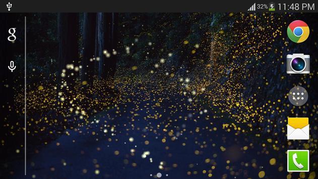 Forest Firefly live wallpaper screenshot 7