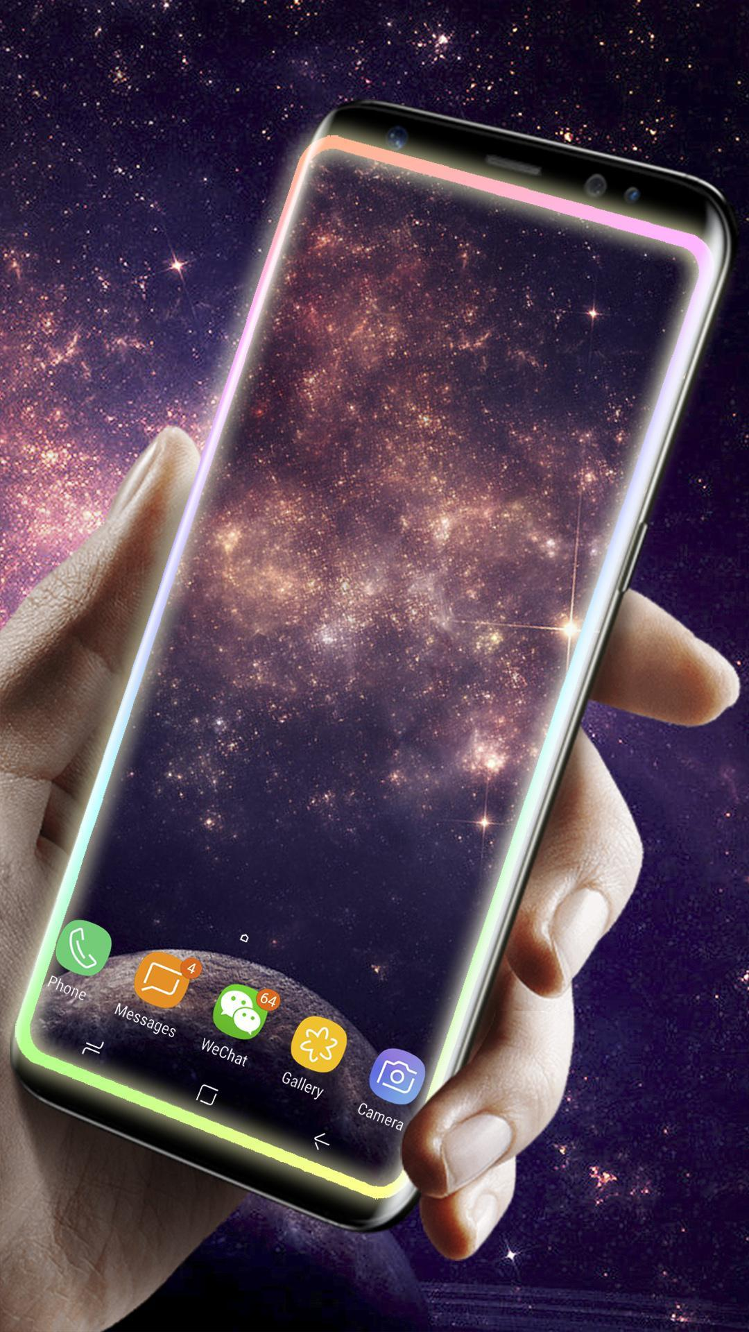 Galaxy Edge Lighting Live Wallpaper For Android Apk Download