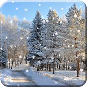 Winter Snow Live Wallpaper HD icon