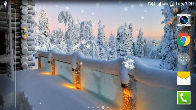 Winter Snow Live Wallpaper HD screenshot 6