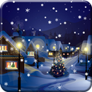 Snow Night City live wallpaper APK Android