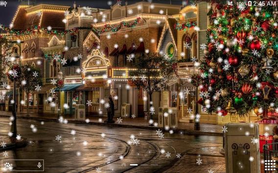 Snow Night City live wallpaper screenshot 16