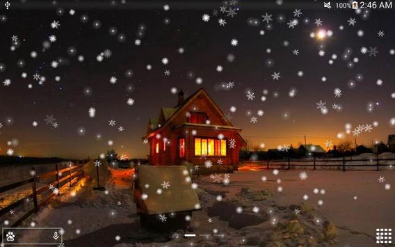 Snow Night City live wallpaper screenshot 17