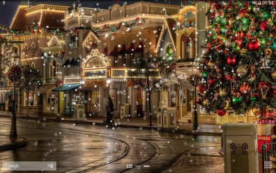Snow Night City live wallpaper screenshot 10