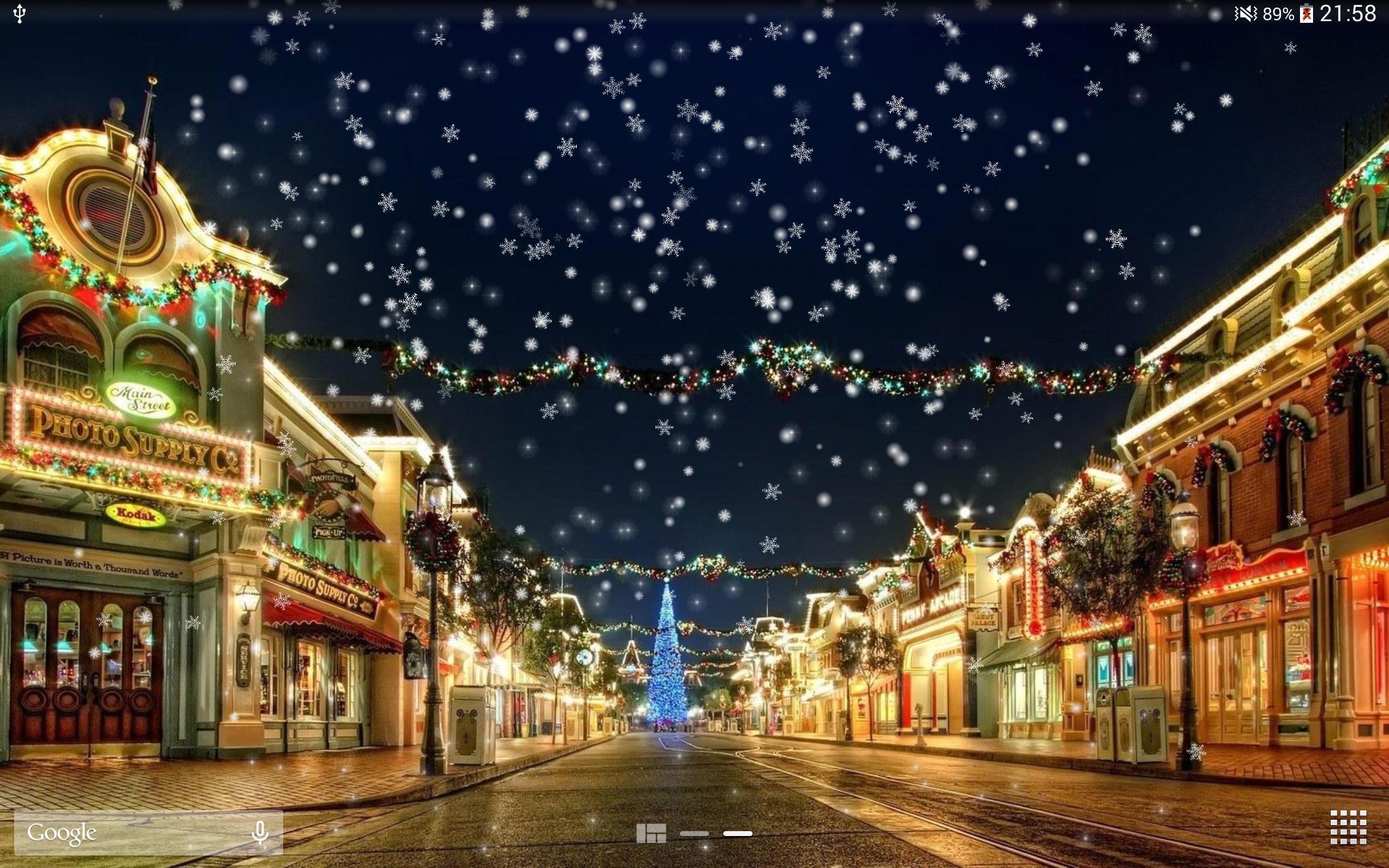 聖誕冬季城市雪夜景免費動態桌布壁紙free Pro 安卓下載 安卓版apk