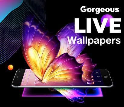Bling Launcher - Live Wallpapers & Themes screenshot 1