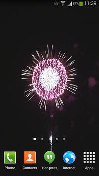 Fireworks Live Wallpaper HD 4 screenshot 1