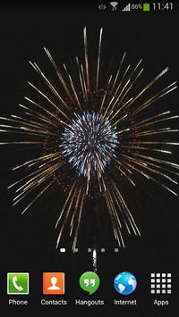 Fireworks Live Wallpaper HD 4 screenshot 3