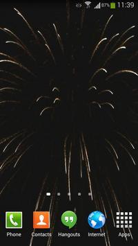 Fireworks Live Wallpaper HD 4 screenshot 4