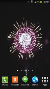 Fireworks Live Wallpaper HD 4 screenshot 9