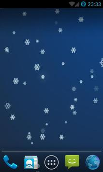 Snow Stars Live Wallpaper HD poster