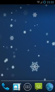Snow Stars Live Wallpaper HD screenshot 1