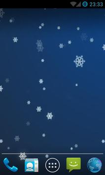 Snow Stars Live Wallpaper HD screenshot 2