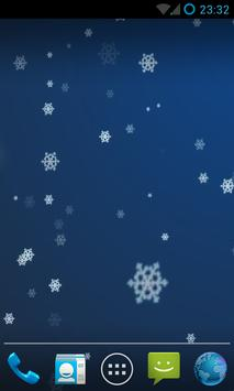 Snow Stars Live Wallpaper HD screenshot 4