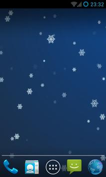 Snow Stars Live Wallpaper HD screenshot 6