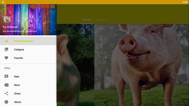 Pig Wallpaper screenshot 3