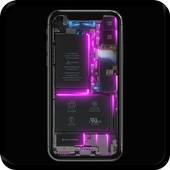 Phone Electricity Live Wallpaper icon