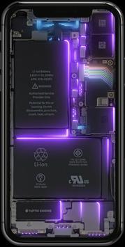 Phone Electricity Live Wallpaper screenshot 4