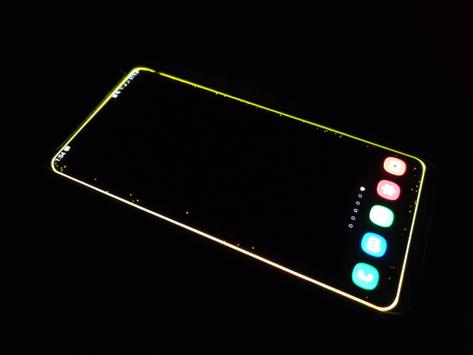 Galaxy Phone Edge Lighting Live Wallpaper For Android Apk