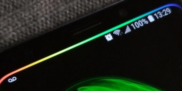 Samsung Edge Lighting Live Wallpaper screenshot 1