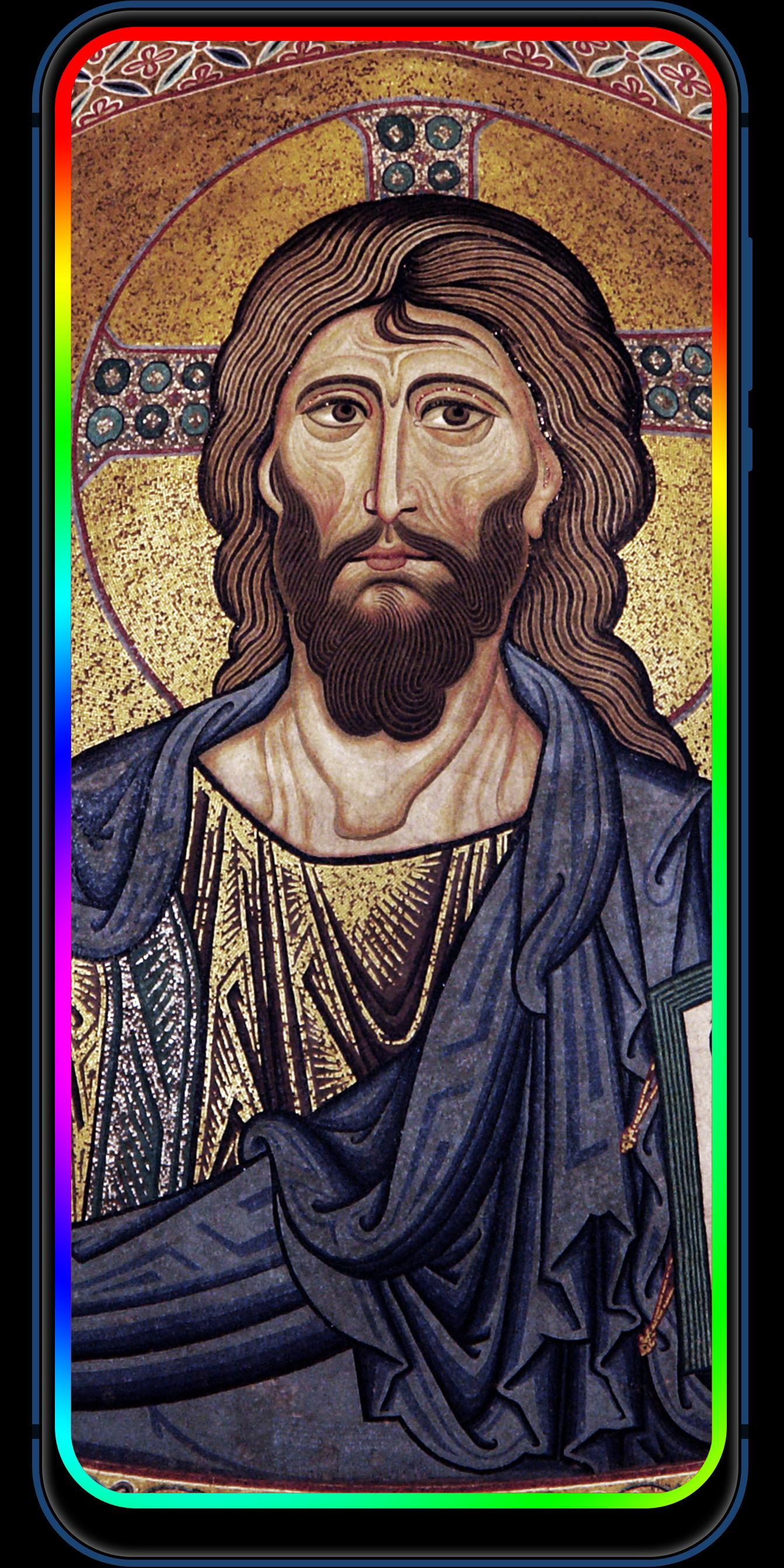 3D Jesus Phone Edge Gambar Animasi Gratis For Android APK