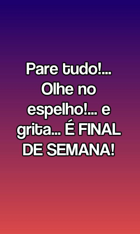 Frases Final De Semana For Android Apk Download
