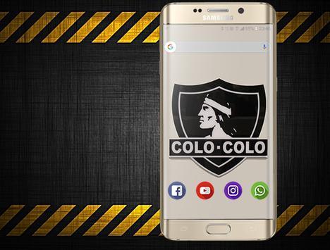 Wallpaper Colo-Colo poster