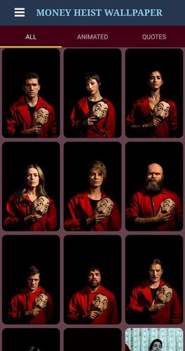 Money Heist Wallpaper For Android Apk Download