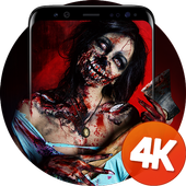Horror wallpapers 4k icon