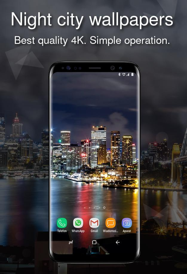 Night City Wallpapers 4k For Android Apk Download