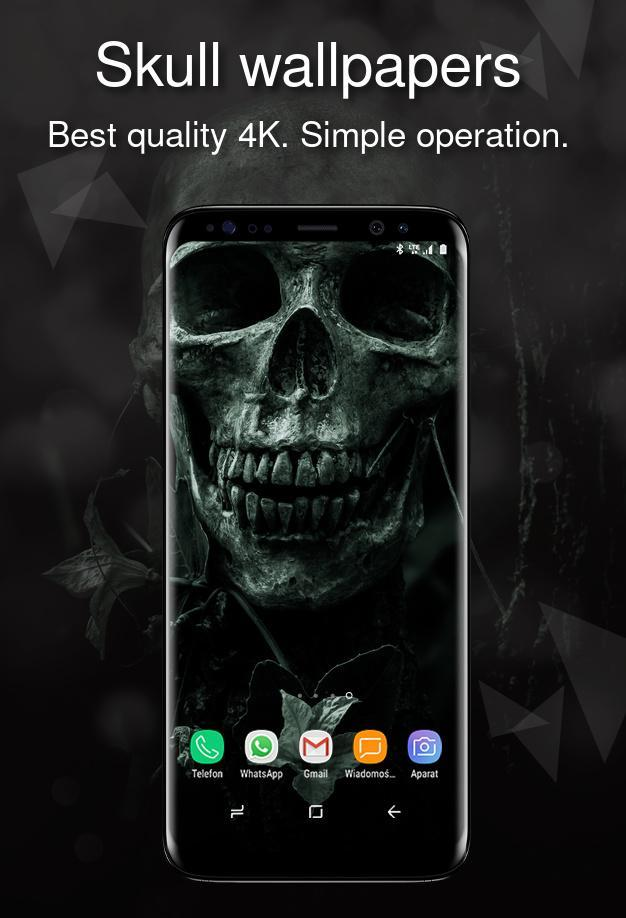 Skull Wallpapers 4k For Android Apk Download